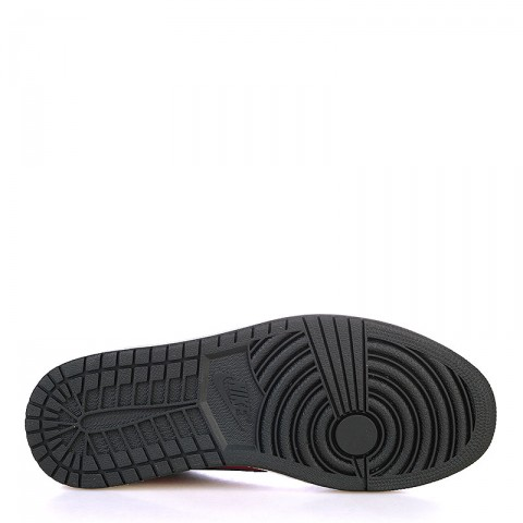 Купить мужские черные, красные, белые  кроссовки air jordan 1 retro low og в магазинах Streetball - изображение 4 картинки