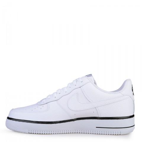 Купить мужские белые  кроссовки nike air force 1 в магазинах Streetball - изображение 3 картинки