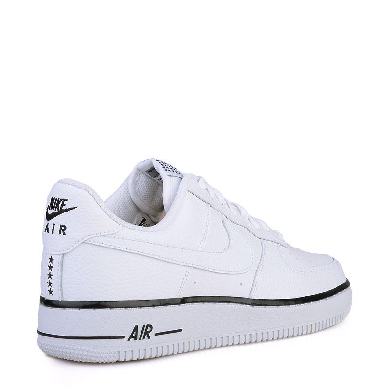 Купить мужские белые  кроссовки nike air force 1 в магазинах Streetball изображение - 2 картинки