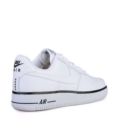 Купить мужские белые  кроссовки nike air force 1 в магазинах Streetball - изображение 2 картинки