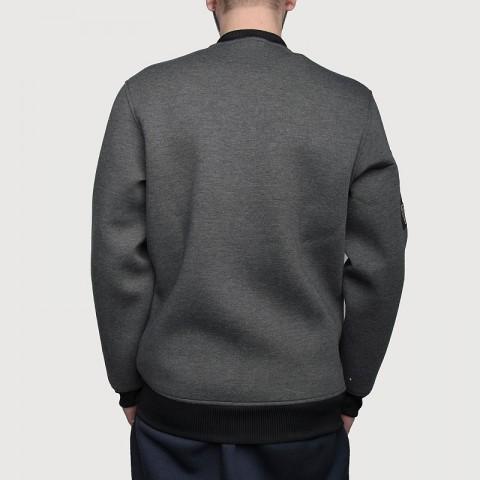 Купить мужскую серую  куртку adidas as le plyr jkt в магазинах Streetball - изображение 5 картинки