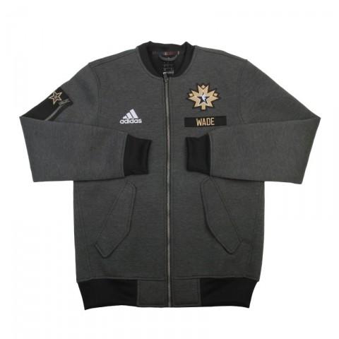 Купить мужскую серую  куртку adidas as le plyr jkt в магазинах Streetball - изображение 1 картинки