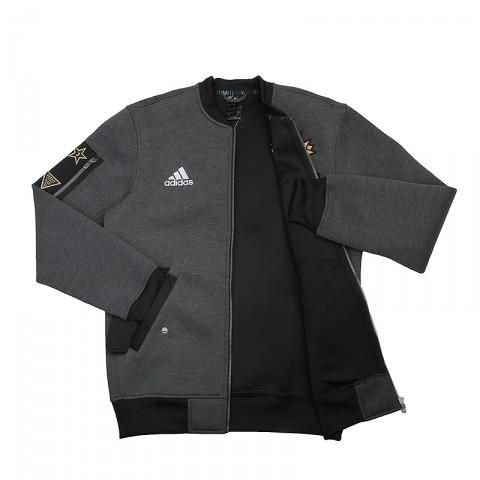 мужскую серую  куртку adidas as le plyr jkt AC2563 - цена, описание, фото 2