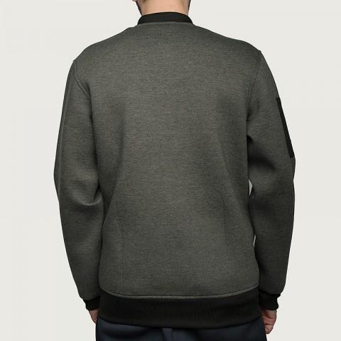 мужскую серую  куртку adidas as le plyr jkt AC2563 - цена, описание, фото 5