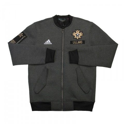 мужскую серую  куртку adidas as le plyr jkt AC2563 - цена, описание, фото 1