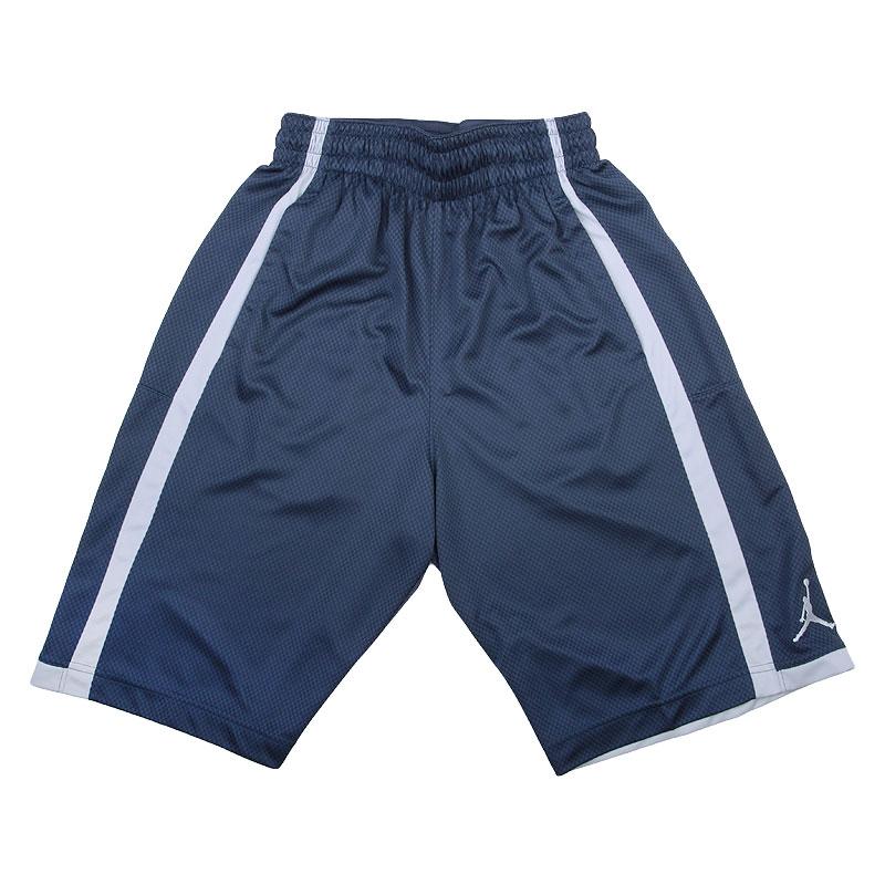 мужские синие   шорты jordan crossover 724834-411 - цена, описание, фото 1