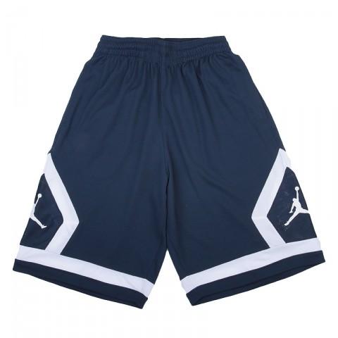 Купить мужские синие   шорты jordan flight diamond в магазинах Streetball - изображение 1 картинки
