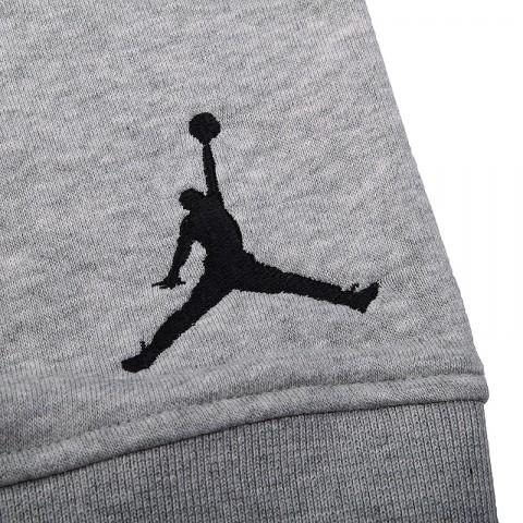 Купить мужские серые  шорты jordan fleece short в магазинах Streetball - изображение 3 картинки