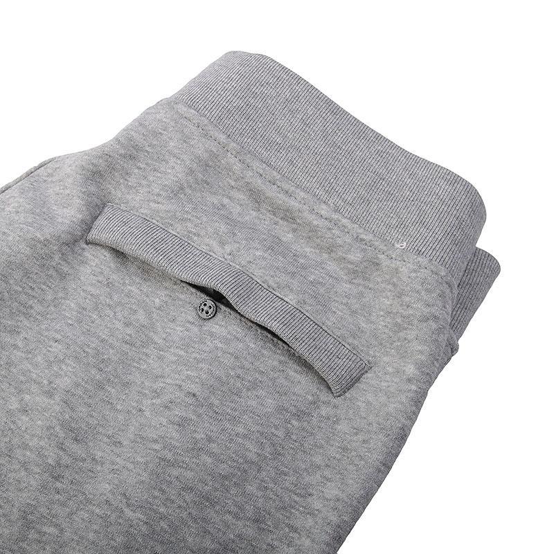 Купить мужские серые  шорты jordan fleece short в магазинах Streetball изображение - 2 картинки