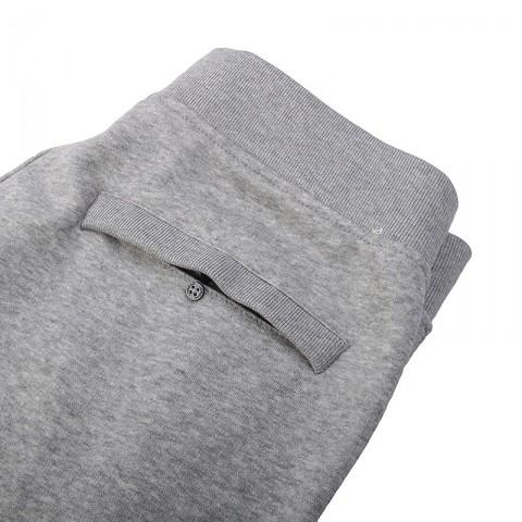 Купить мужские серые  шорты jordan fleece short в магазинах Streetball - изображение 2 картинки