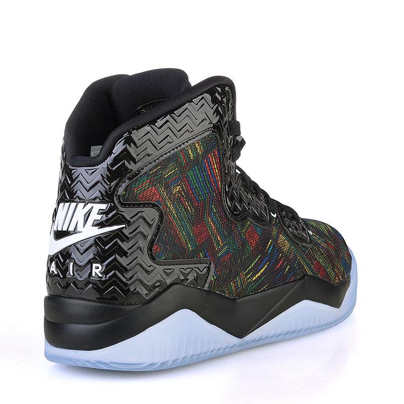 мужские черные, голубые  кроссовки air jordan spike forty bhm 836750-045 - цена, описание, фото 2