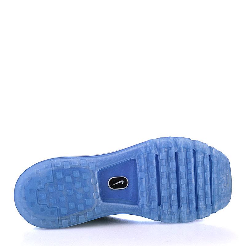 Купить мужские синие, салатовые  кроссовки nike flyknit max в магазинах Streetball изображение - 4 картинки