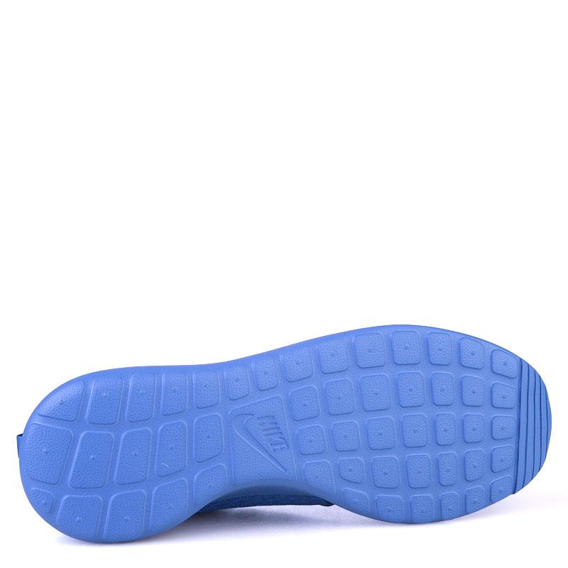 Купить мужские синие  кроссовки nike roshe one hyp в магазинах Streetball изображение - 4 картинки