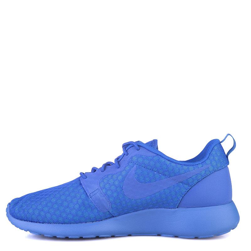 Купить мужские синие  кроссовки nike roshe one hyp в магазинах Streetball изображение - 3 картинки