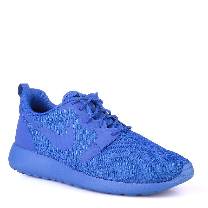 Купить мужские синие  кроссовки nike roshe one hyp в магазинах Streetball изображение - 1 картинки