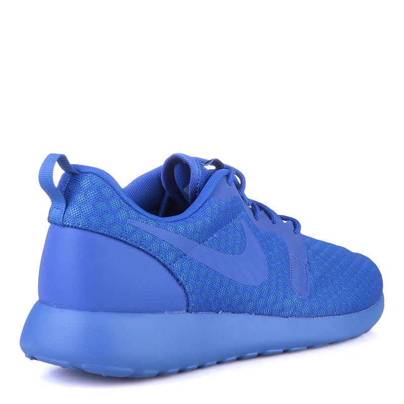 Купить мужские синие  кроссовки nike roshe one hyp в магазинах Streetball изображение - 2 картинки