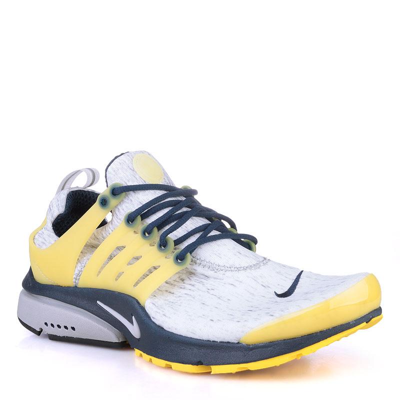 Кроссовки Nike Sportswear Air PrestoКроссовки lifestyle<br>текстиль,резина<br><br>Цвет: белый,желтый,синий<br>Размеры US: 3XL<br>Пол: Мужской