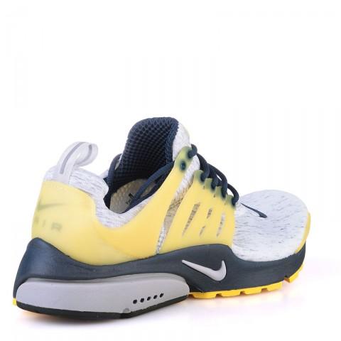 мужские белые,желтые,синие  кроссовки nike air presto 305919-041 - цена, описание, фото 2