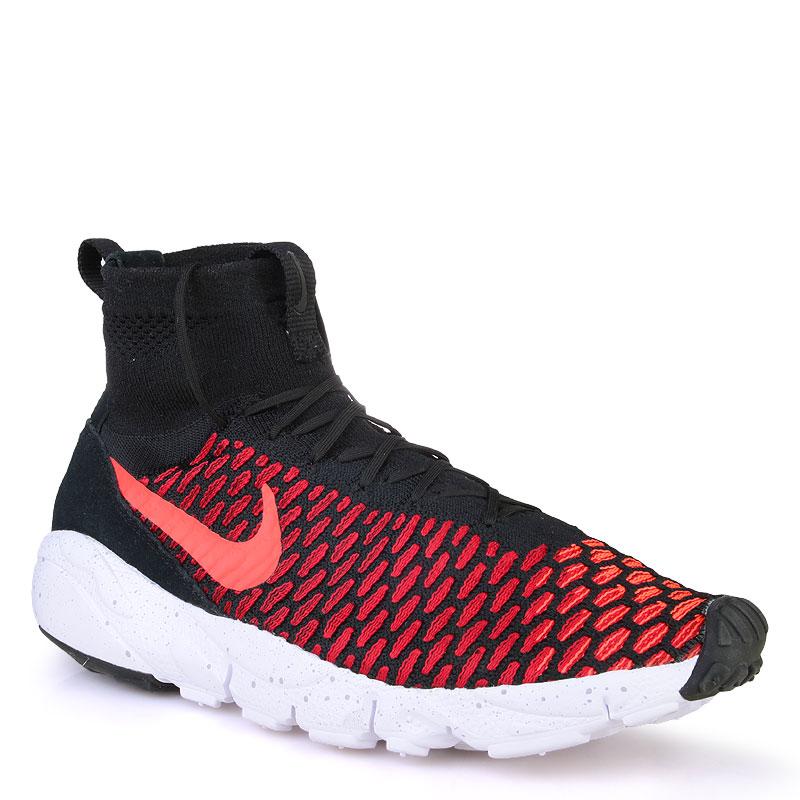 Кроссовки Nike sportswear Air Footscape Magista FlyknitКроссовки lifestyle<br>кожа,текстиль,резина<br><br>Цвет: Красный<br>Размеры US: 7;8.5;9.5;10;11;12