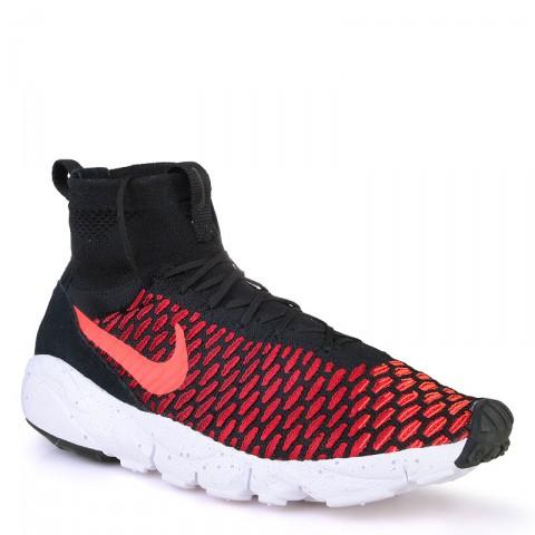 мужские красные  кроссовки nike air footscape magista flyknit 816560-002 - цена, описание, фото 1