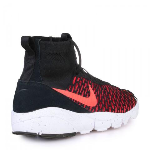 мужские красные  кроссовки nike air footscape magista flyknit 816560-002 - цена, описание, фото 2