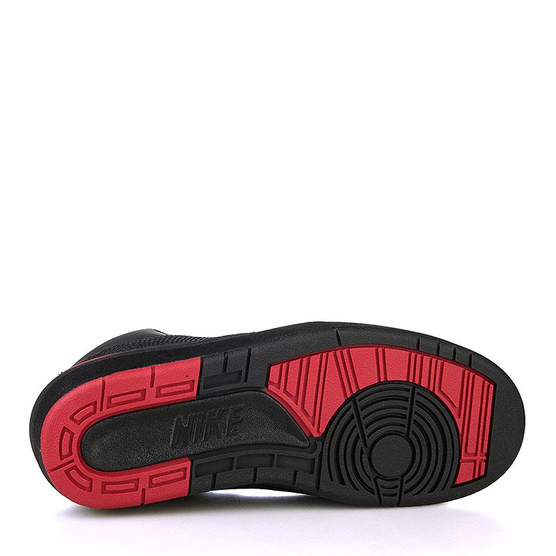 Купить мужские черные, красные  кроссовки air jordan ii retro в магазинах Streetball изображение - 4 картинки