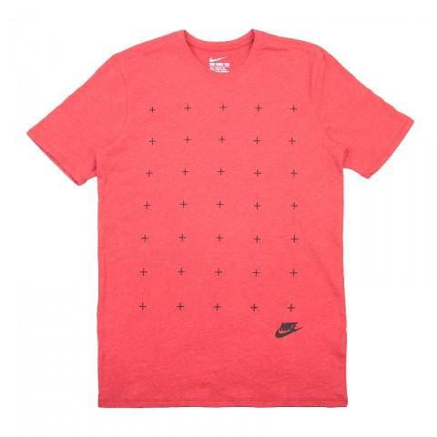 мужскую красную  футболка nike tee-matte 739467-672 - цена, описание, фото 1
