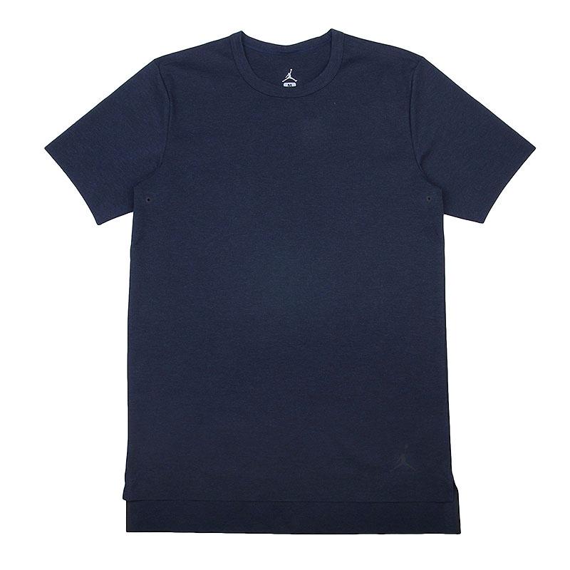 Купить мужскую черную  футболка jordan 23 lux extended в магазинах Streetball изображение - 1 картинки