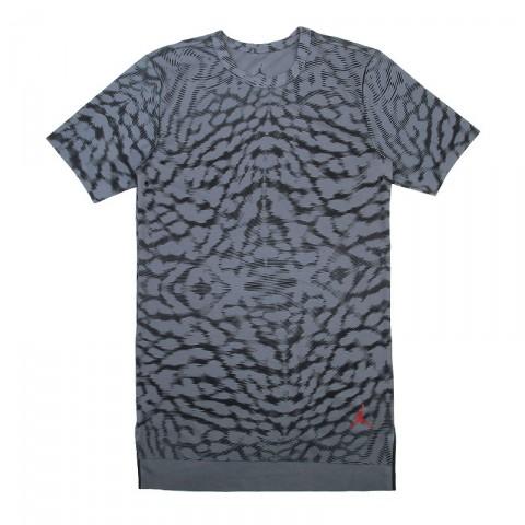 Купить мужскую серую  футболка jordan 23 lux s/s extended в магазинах Streetball - изображение 1 картинки