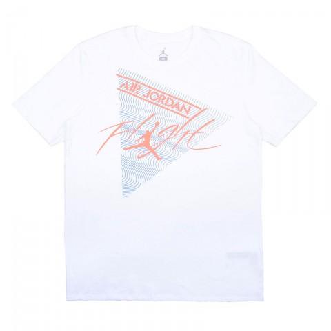 Купить мужскую белую  футболка jordan flight tee в магазинах Streetball - изображение 1 картинки