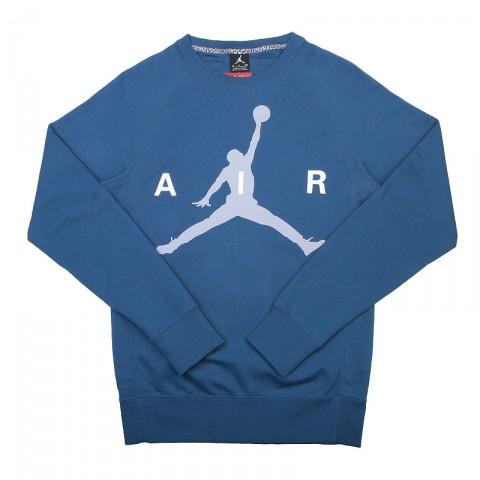 Купить мужскую синюю, серую, белую  толстовка jordan jumpman в магазинах Streetball - изображение 1 картинки