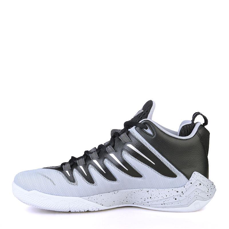 Купить мужские чёрные, серые, белые  кроссовки jordan cp3.ix в магазинах Streetball изображение - 3 картинки