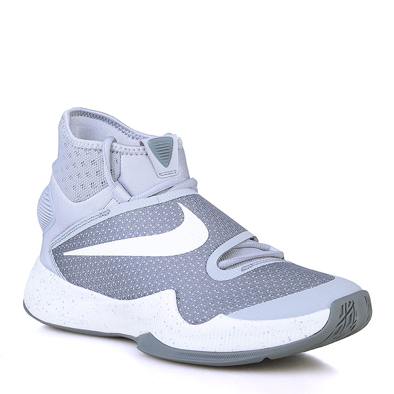 Купить мужские серые, белые  кроссовки nike zoom hyperrev 2016 в магазинах Streetball изображение - 1 картинки