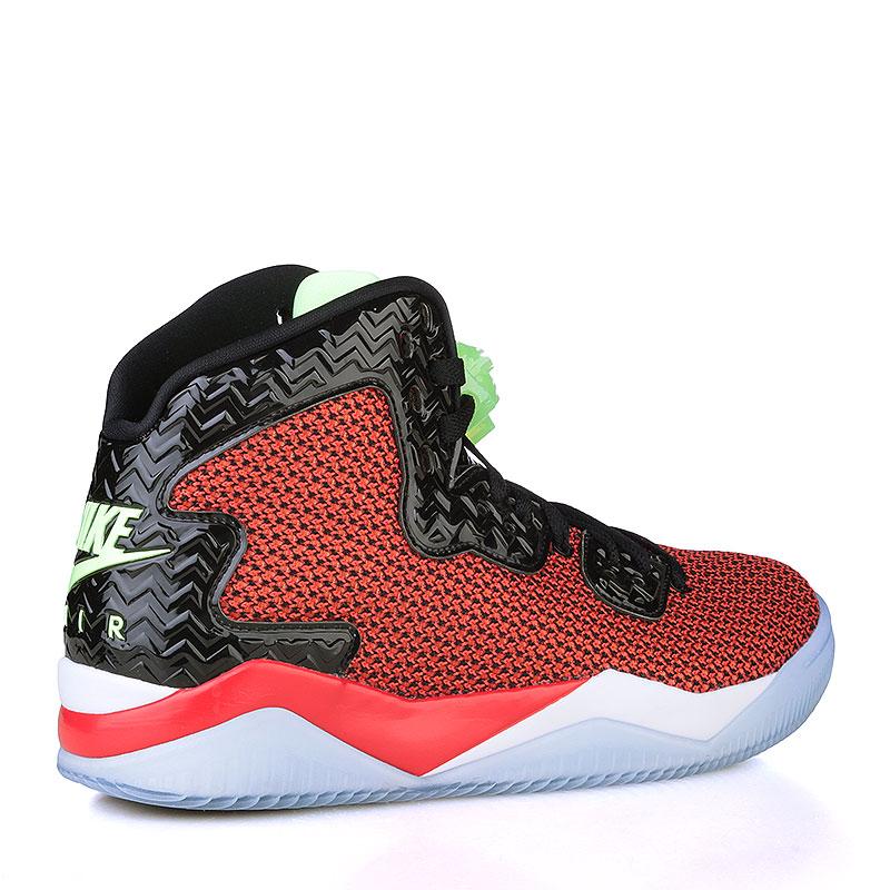 Купить мужские чёрные, красные, белые, голубые  кроссовки air jordan spike forty в магазинах Streetball изображение - 2 картинки