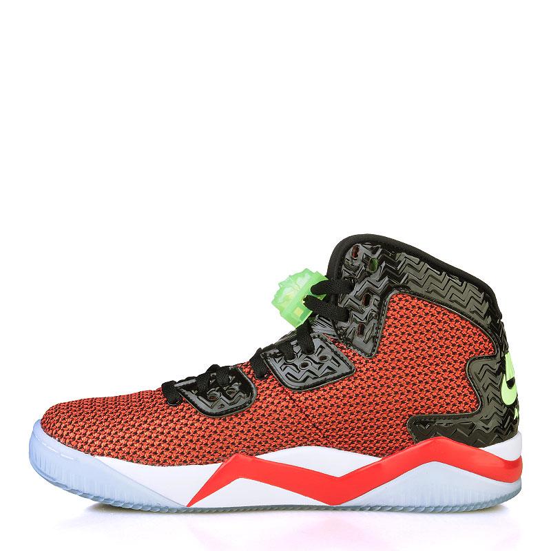 Купить мужские чёрные, красные, белые, голубые  кроссовки air jordan spike forty в магазинах Streetball изображение - 3 картинки