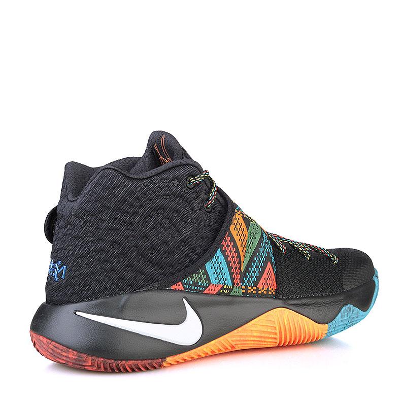 Купить мужские чёрные, оранжевые, красные, голубые  кроссовки  nike kyrie 2 bhm в магазинах Streetball изображение - 2 картинки