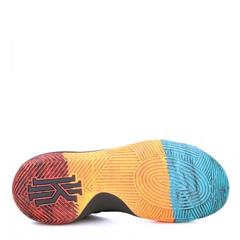 Купить мужские чёрные, оранжевые, красные, голубые  кроссовки  nike kyrie 2 bhm в магазинах Streetball - изображение 4 картинки