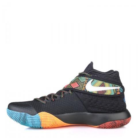 Купить мужские чёрные, оранжевые, красные, голубые  кроссовки  nike kyrie 2 bhm в магазинах Streetball - изображение 3 картинки