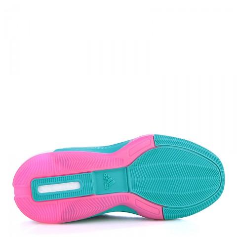 Купить детские фиолетовые, голубые  кроссовки adidas j wall 2 boost в магазинах Streetball - изображение 4 картинки