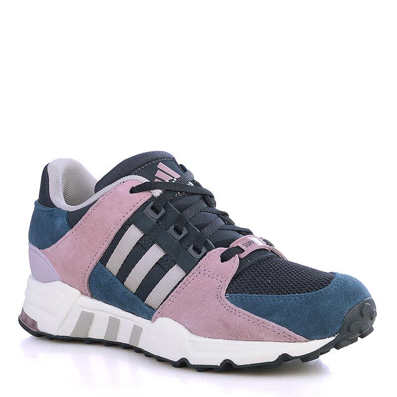 Кроссовки adidas Originals Equipment Support 93 WКроссовки lifestyle<br>Кожа, текстиль, резина<br><br>Цвет: Синий, чёрный, белый, серый, черничный<br>Размеры UK: 6;8