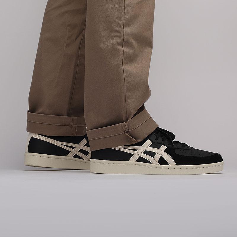 мужские черные  кроссовки onitsuka tiger gsm D5K2Y-9099 - цена, описание, фото 5
