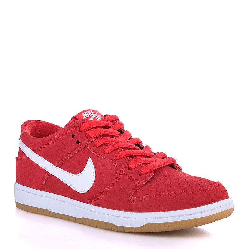 Кроссовки Nike SB Dunk Low Pro IWКроссовки lifestyle<br>Кожа, текстиль, резина<br><br>Цвет: Красный, белый<br>Размеры US: 8;8.5;10.5;11<br>Пол: Мужской