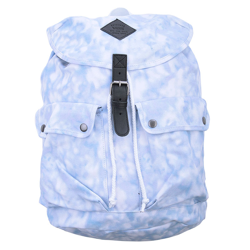 Рюкзак VansСумки, рюкзаки<br>Хлопок<br><br>Цвет: Голубой,белый<br>Размеры US: OS