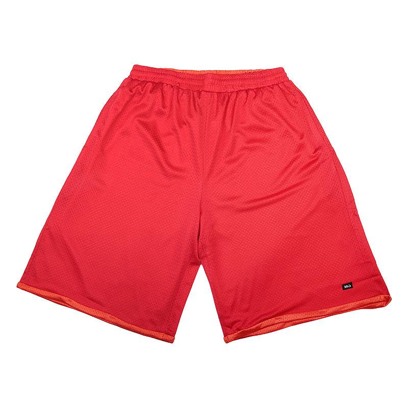 Шорты K1X Roll-up practice shortsШорты<br>полиэстер<br><br>Цвет: красный,оранжевый<br>Размеры US: S;3XL<br>Пол: Мужской
