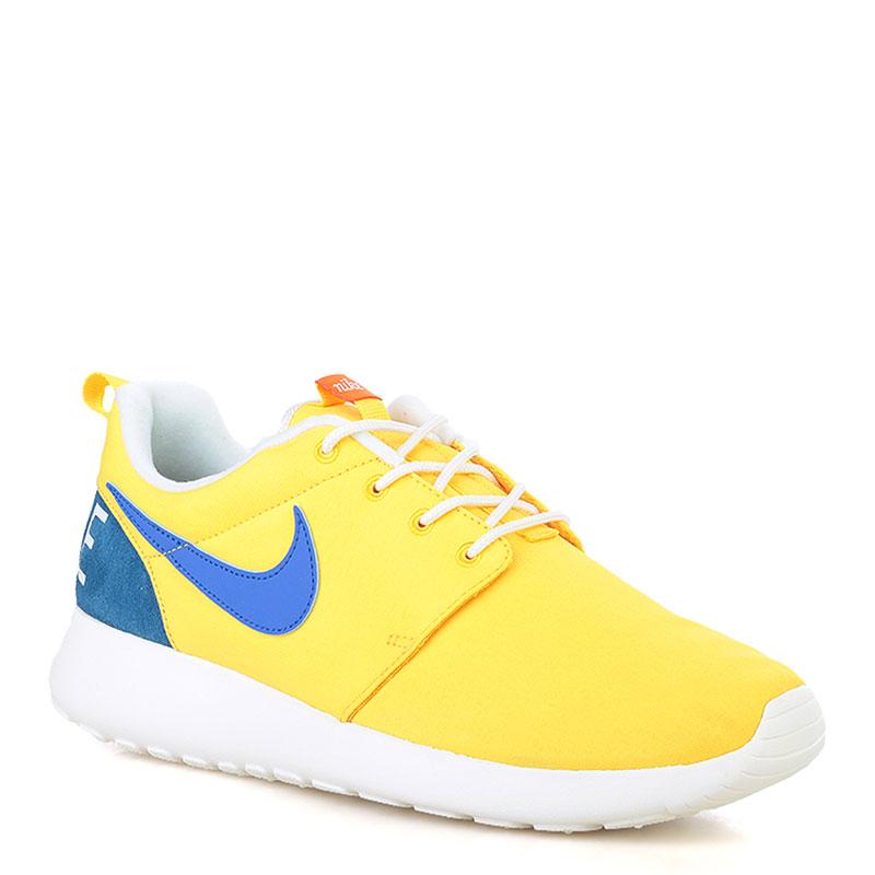Кроссовки Nike sportswear Roshe One RetroКроссовки lifestyle<br>текстиль,резина<br><br>Цвет: Желтый<br>Размеры US: 8;8.5;9;10;10.5;11.5<br>Пол: Мужской