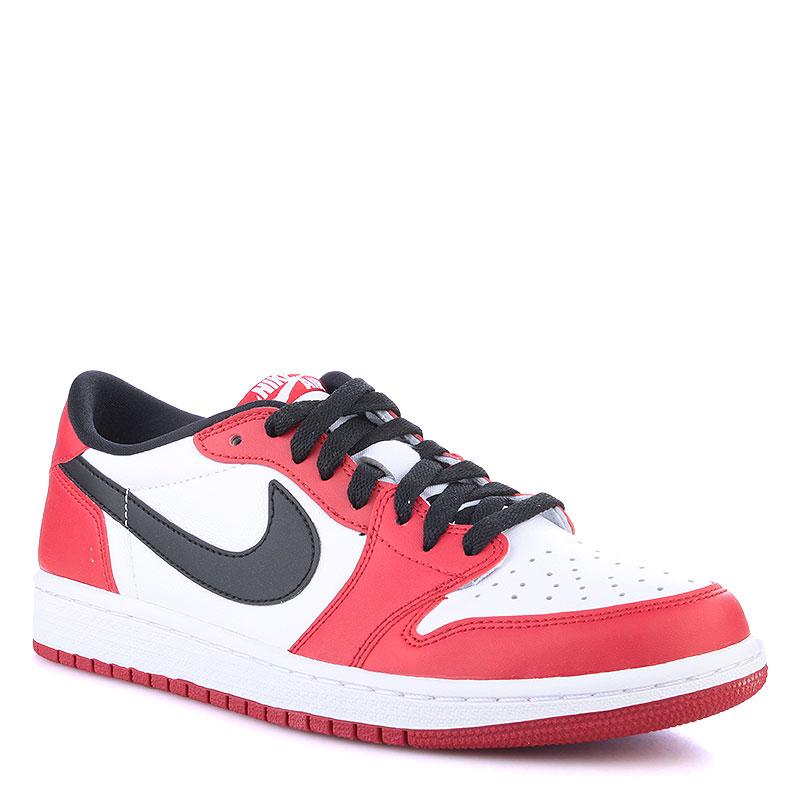 4c341848cb38 мужские красные,черные,белые кроссовки air jordan 1 retro low og 705329-600