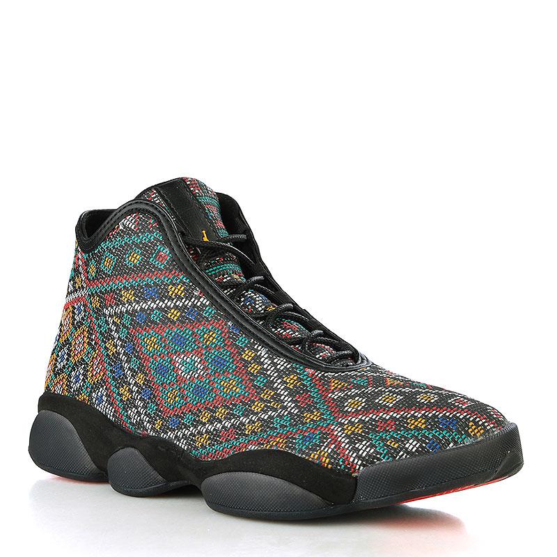 Кроссовки Jordan Horizon PremiumКроссовки lifestyle<br>Текстиль, синтетическая кожа, резина<br><br>Цвет: Чёрный<br>Размеры US: 9<br>Пол: Мужской