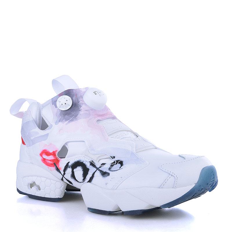 женские белые кроссовки reebok instapump fury celebrate V69142 - цена 0e7d2cc2a2e86