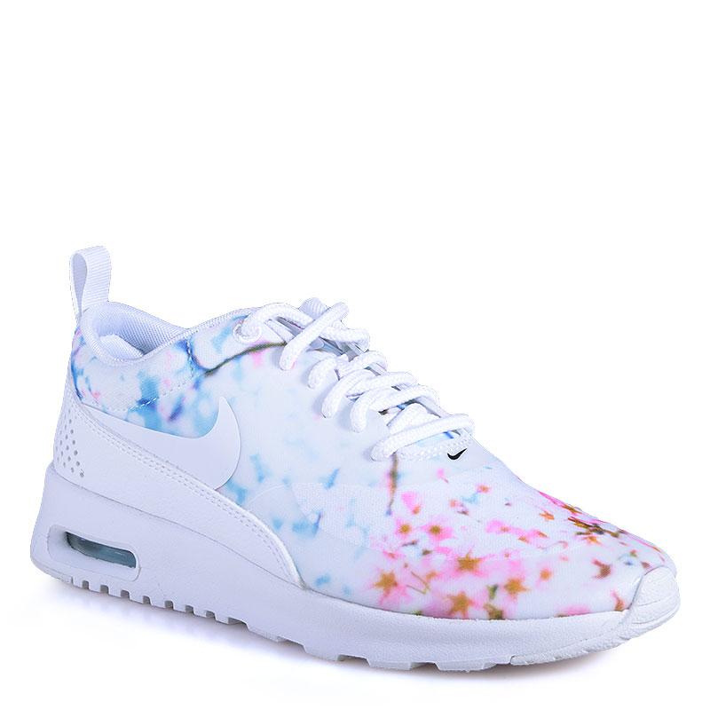Кроссовки Nike Sportswear Air Max TheaКроссовки lifestyle<br>Текстиль,резина<br><br>Цвет: Белый<br>Размеры US: 5;5.5<br>Пол: Женский