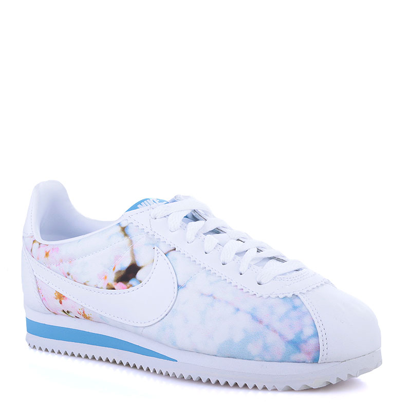 Кроссовки Nike Sportswear WMNS Classic CortezКроссовки lifestyle<br>Синтетика,текстиль,резина<br><br>Цвет: Белый<br>Размеры US: 5<br>Пол: Женский